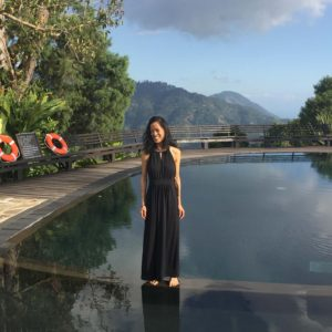 Tiana's 30th birthday at Strawberry Hill in her home country, Jamaica