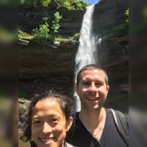 A spontaneous hike in upstate NY led us to this waterfall