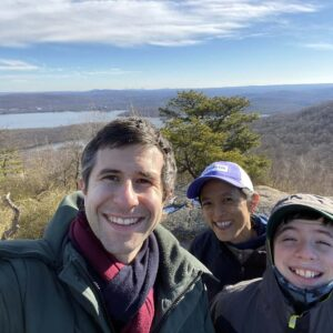 Santino did remote school with us for a month during the pandemic and we needed to get out of the house on this hike nearby!