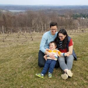 Our family having fun in the Hudson Valley!