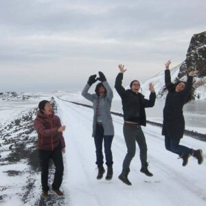 On vacation in Iceland with friends Namcy and Suzanne!