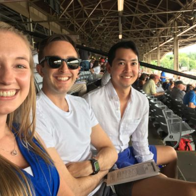 A day at the Saratoga races with our cousin Amanda
