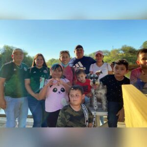Fun family walk around the Hidalgo Pump house with some of Cindy's family in Hidalgo, TX