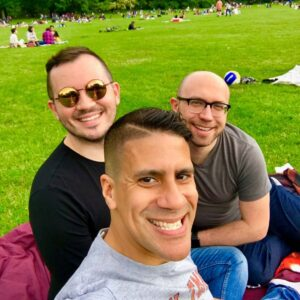 A great day for a picnic in Central Park!