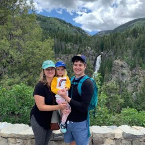 In Steamboat Springs, Colorado, enjoying our mountain vacation