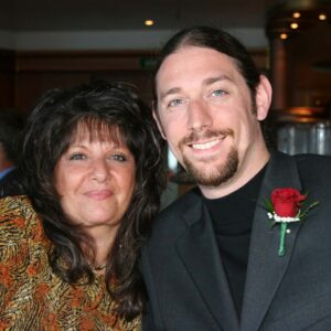 Formal night on our Alaskan Cruise trip with Jason's mother