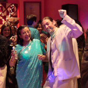 Party time with Samina's Mom!