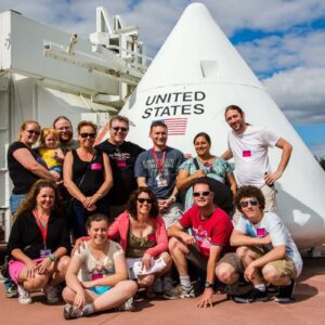 Group trip with our close friends to Cape Canaveral, Florida. Jason is a space program enthusiast