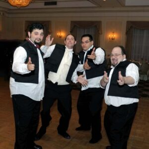 Jason and his groomsmen as The Dancing Han Solos!