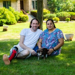Visiting Samina's Parents' House with our dog Hiro in Upstate NY