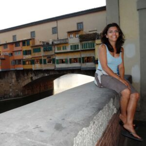 Juliet falling in love with Florence Italy