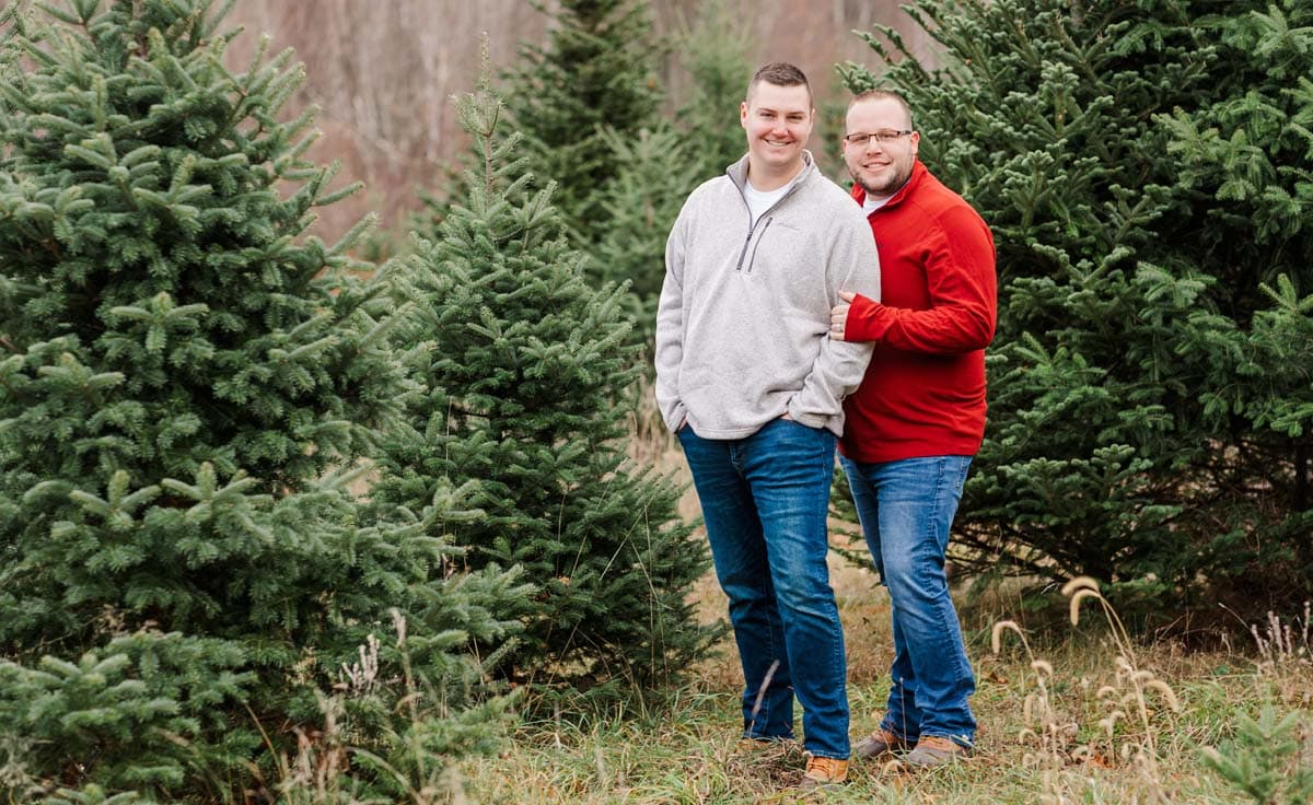 tree farm december parker and joshua are looking to adopt baby