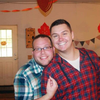 Us at our annual fall party, in Plattsburgh New York