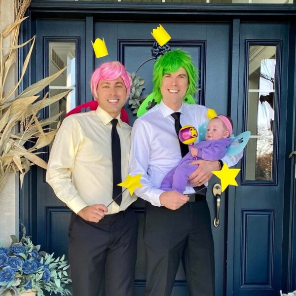 Our group Halloween costume; The Fairly OddParents!