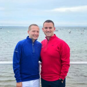 The two of us on our yearly vacation in Provincetown, MA