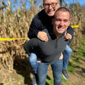 Every Fall we love to visit the pumpkin patch and corn maze (followed by Apple Cider Donuts!)