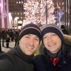Christmas in NYC is our favorite time of year!