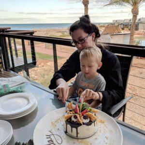 Birthday vacation with my nephew