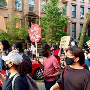 Black Lives Matter protest in my neighborhood