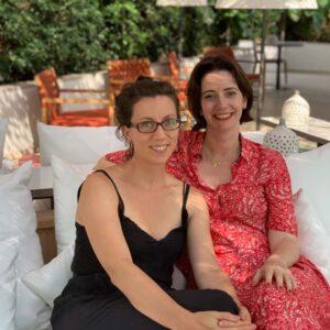 With my friend Jayne